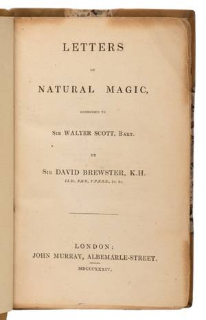Brewster David Letters on Natural Magic addressed to