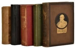 Frauds Group of five vintage books on frauds
