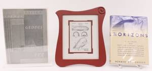 Group of Three Norman Bel Geddes Items