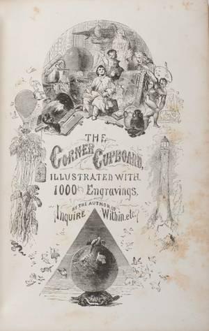 Corner Cupboard The New York Dick  Fitzgerald