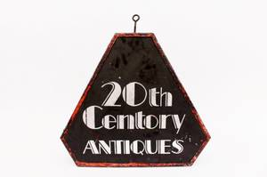20th Century Antiques Advertising Sign