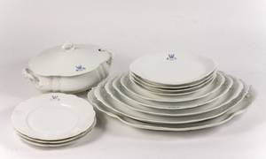 Haviland Limoges Armorial Crest Porcelain 13 Pcs