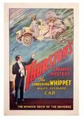 Thurstons Vanishing Whippet poster ca 1926