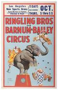 Ringling Bros and Barnum and Bailey Window Card