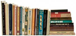 Playing Cards Collection of more than 40 books and