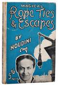 Houdini Harry Magical Rope Ties  Escapes 1922