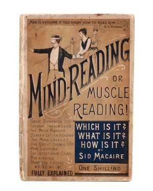 Macaire Sid MindReading or Muscle Reading