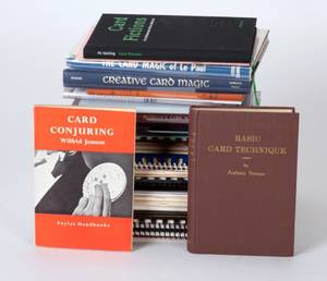 47 books and lecture notes on card magic