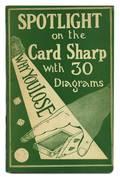 Scaife Lawrence Spotlight on the Card Sharp