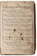 Scot Reginald The Discoverie of Witchcraft 1665