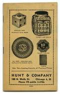 Hunt  Company Catalogs group of eight catalogs and