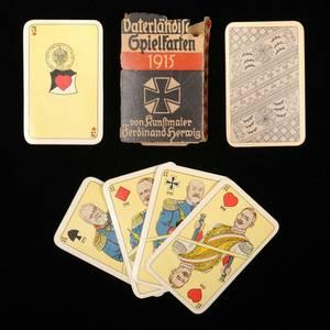 World War I Playing Cards FU Lattmann Goslar