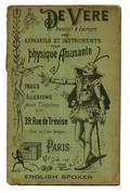 Charles DeVere Inventeur et Fabricant catalogue 1900