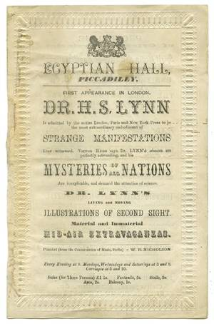 Lynn Dr Hugh Simmons Dr Lynn Egyptian Hall