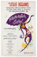 Knight Hilary Hallelujah Baby 1967 Window card 14