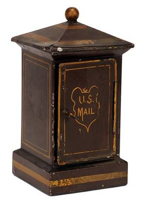 Mail Box trick New York Martinka  Co  ca 1910