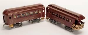 948 Lionel Standard Gauge Passenger Train Cars Maroon