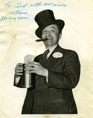Group of over 45 vintage photographs of magicians