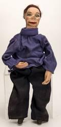 965 Miniature Ventriloquist Figure John Carroll ca