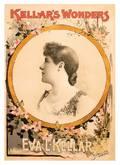 377 Kellars Wonders Eva L Kellar Litho poster 1885