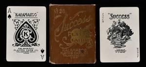Kalamazoo Paper Box  Card Co Success No 28 Playing