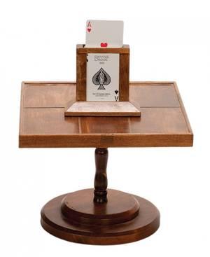 Rising Card Table American ca 1940