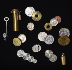 Coins Brass  Money Magic Over 125 coin tricks