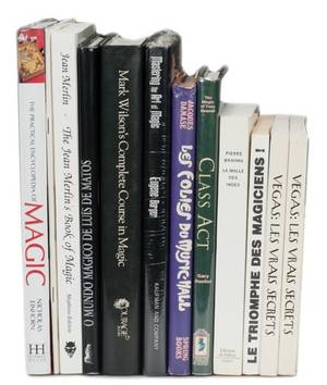 Twelve books from the library of Channing Pollock