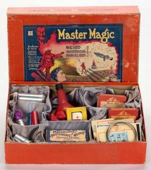 Master Magic Set Bridgeport Sherms Inc ca 1930