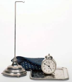 Vanishing Alarm Clock Bridgeport Sherms ca 1940 An