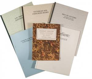 Sawyer Thomas A Group of Six Booklets and Monographs