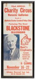 Blackstone Harry Henry Boughton Charity Circus