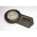 Victorian regulator clock by jerome  co 33 tall