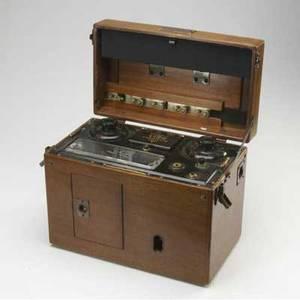 Vintage medical equipment sanborn co viso cardiette model no 51 in oak case made for seymour schoenholz md 11 12 x 15 x 8 12