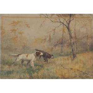 James brade sword american 18391915 untitled watercolor on paper signed 13 78 x 20