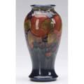 Moorcroft pomegranate vase impressed marks and blue signature 7 14