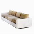 Vladimir kagan  dreyfuss fourseat sofa dreyfuss label 23 x 108 12 x 34