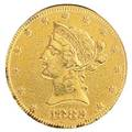 1898 us gold 1000 coin in goldfilled numismatic mount