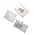 Three silver cigarette cases russian 84 silver tromp loil strapped suitcase anna stolyanova moscow 18831900 4 38 x 2 12 x 78 russian 84 silver with applied gold monogram engraved on in