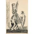Max ernst german 18911976 la danseuse 1950 lithograph framed signed and numbered 144200 20 38 x 13 sight publisher guilde de la gravure geneveparis literature s  l 46 d