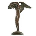 Adolph alexander weinman germanamerican 18701952 descending night bronze signed ca a weinman fecit with foundry stamp roman bronze works ny 25 12 high provenance private c