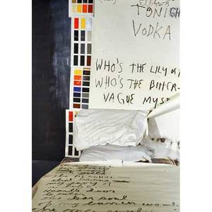 Jim dine american b 1935 vodka electric 1999 digital pigment print on canvas framed signed dated and numbered 13 68 14 x 47 78 provenance gerald peters gallery new mexico labe