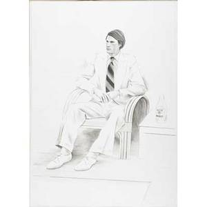 David hockney british b 1937 joe mcdonald 1976 lithograph framed signed dated and numbered 8099 41 12 x 29 12 sheet provenance private collection arizona