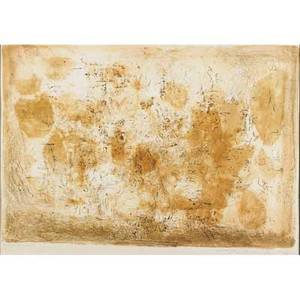 Zao wouki chinesefrench 19212013 plaine rose 1956 lithograph in colors framed signed dated and numbered preuve dartiste 17 12 x 25 78 sight publisher loeuvre gravee par