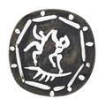 Pablo picasso 1881  1973 madoura glazed earthenware plate edition of 450 two dancers deux danseurs france 1956 stamped madoura plein feu empreinte originale de picasso 9 34 dia lite