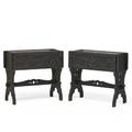 N the style of rose valley pair of planters usa ca 1905 unmarked 28 x 31 x 13 12