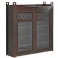 Arts  crafts grand rapidsstyle twodoor bookcase usa ca 1910 unmarked 52 12 x 51 x 13