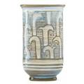 Charles harder 1899  1959 fine glazed ceramic coupe with incised decoration alfred ny 1931 incised c harder 1931 5 34 x 3 12