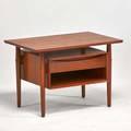 Arne vodder nightstand denmark 1960s teak unmarked 19 12x 28 12 x 18