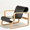 Alvar aalto artek paimio 41 armchair finland 1990s birch painted plywood unmarked 26 x 32 12 24